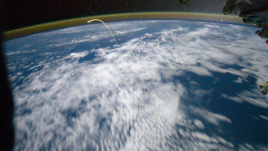 La station spatiale passe en Bretagne