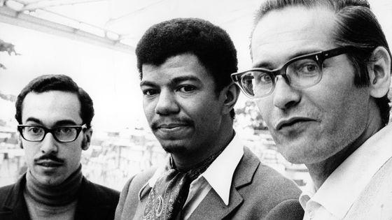 Eddie Gomez, Jack DeJohnette et Bill Evans en 1968