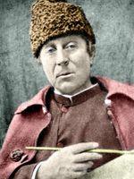 Portrait de Paul Gauguin vers 1888.
