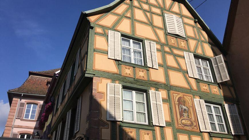 Ribeauvillé possède son lot de maisons plus jolies les unes que les autres