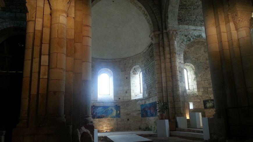 La nef du prieuré d'Allichamps