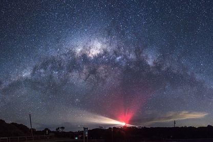 Vue sur la Voie lactée - Australie