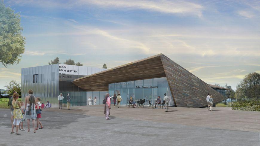 Le futur musée de Paladru, tel qu'imaginé par les architectes