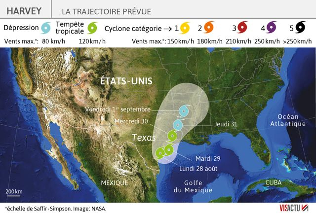 Les pluies diluviennes sur le Texas devraient continuer pendant au moins trois jours encore
