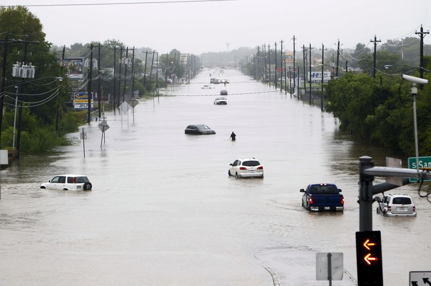 Houston sous les eaux