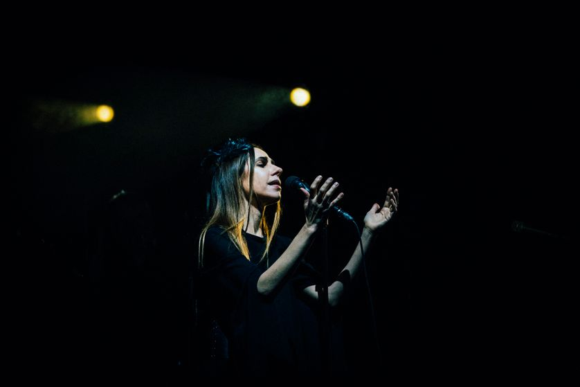 L'interprétation poignante de  PJ Harvey dans le Festival La Route du Rock 2017.