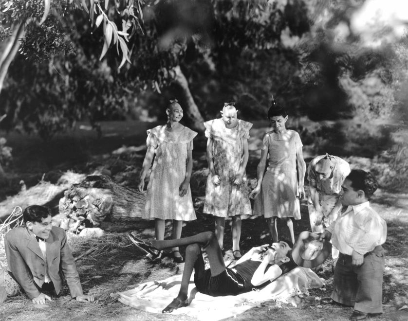 Freaks  La monstreuse parade  1932  directed by Tod Browning Johnny Eck