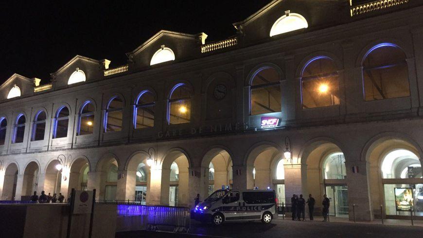 Le secteur de la gare de Nîmes entièrement bouclé, mais aucun coup de feu tiré