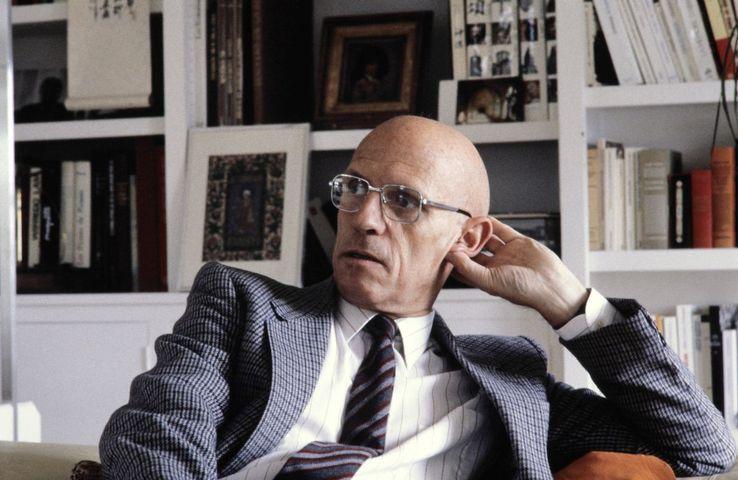 Michel Foucault en 1984 à Paris.