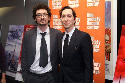 "David et Stéphane Foenkinos en 2012 à New York lors du ""Rendez-vous with French Cinema"""