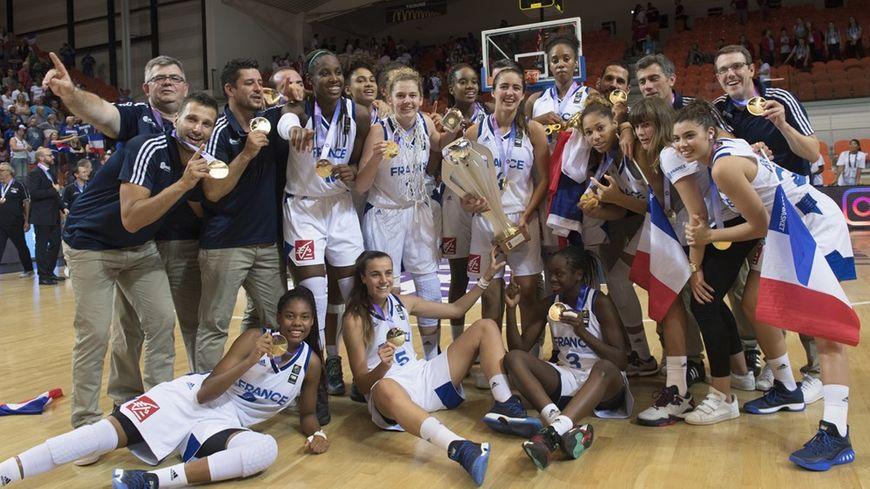 L'équipe de France de basket féminine U16 a remporté l'Euro ce samedi soir à Bourges.