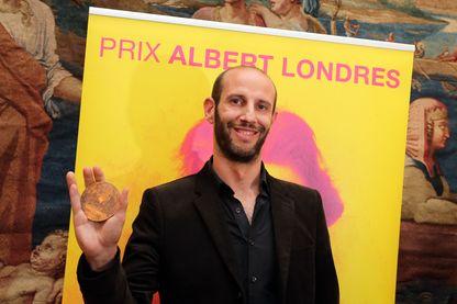 Philippe Pujol, journaliste à La Marseillaise, avait reçu le prix Albert Londres en 2014 - Bordeaux