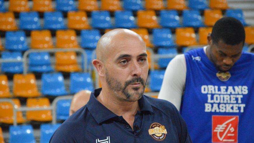Germain Castano, le nouvel entraîneur de l'Orléans Loiret Basket.