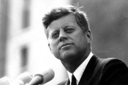 John Fitzgerald Kennedy lors de son discours à Berlin - 26 juin 1963