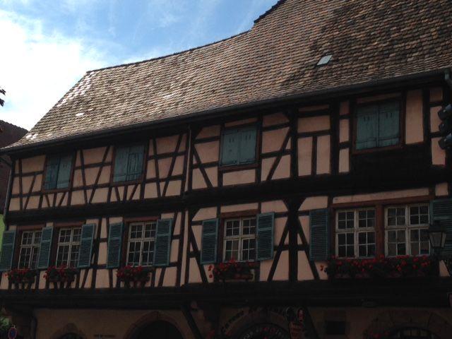 Kaysersberg, village préféré des Français. On se demande bien pourquoi...