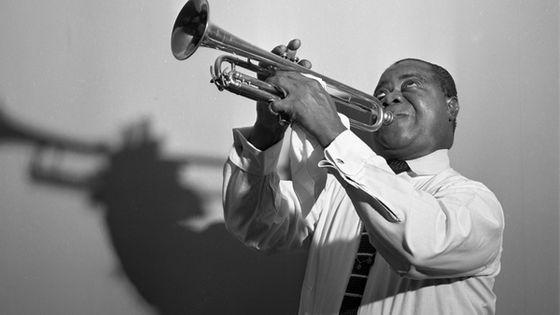 Portrait de Louis Armstrong (1954)