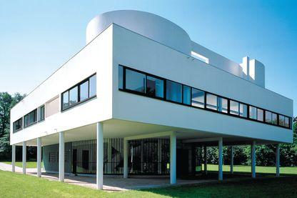La Villa Savoye, par Le Corbusier