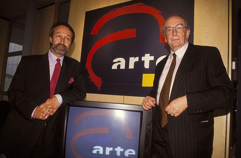 Inauguration d'Arte le 30 mai 1992