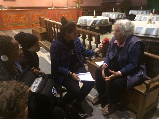 Ariane Mnouchkine interviewée par Ambre, élève du lycée Voillaume d'Aulnay-Sous-Bois