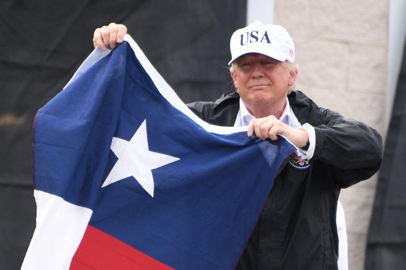 Donald Trump, à Corpus Christi, au Texas