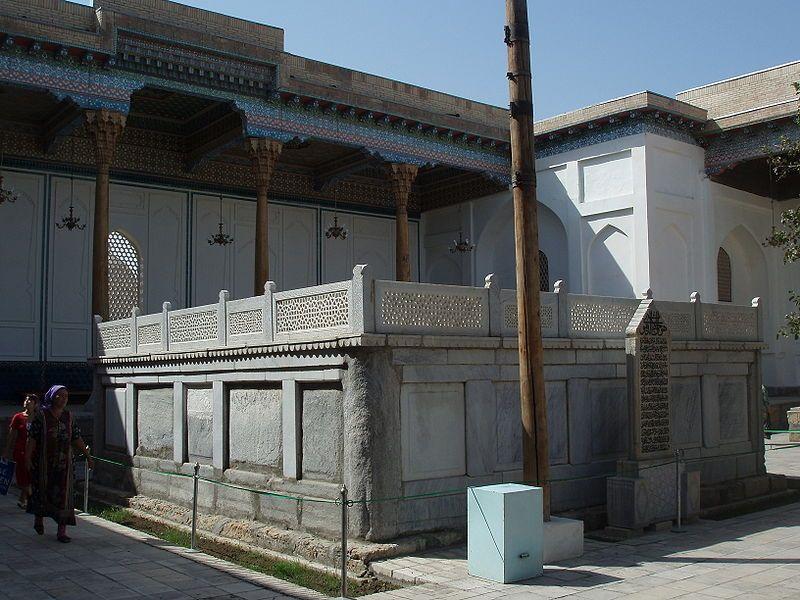 Mausolée de Bahâ'uddin Naqshband à Bukhara en Uzbékistan (13.09.2008)