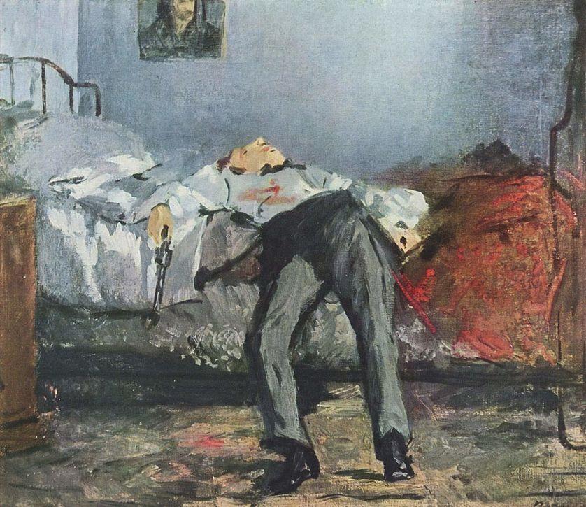 """""""Le suicidé"""" d'Edouard Manet"""