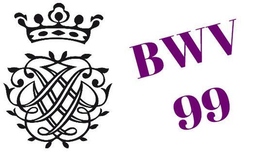 Monogramme de Bach - BWV 99