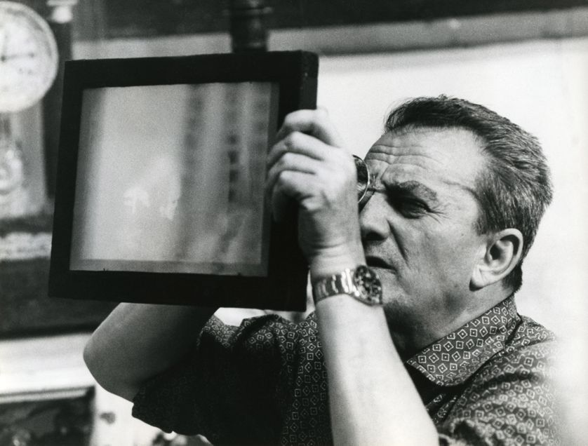 Luchino Visconti en 1965