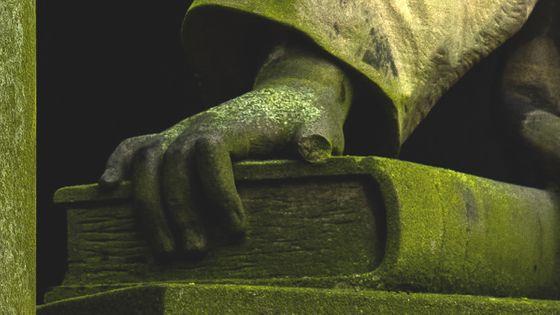 Détail statue ange, Berlin