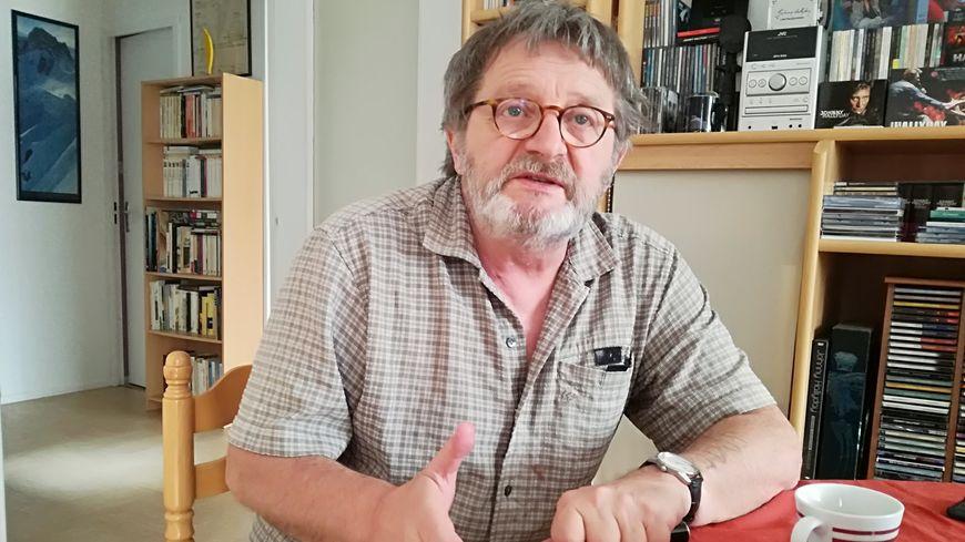 Jean-Marie Choffat dans on appartement belfortain