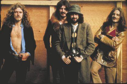 Robert Plant, John Bonham, Jimmy Page, John Paul Jones : Led zeppelin en 1969