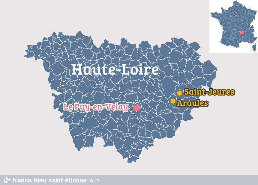 Araules et Saint-Jeures, en Haute-Loire