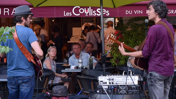 Une journée au Festival Jazz in Marciac