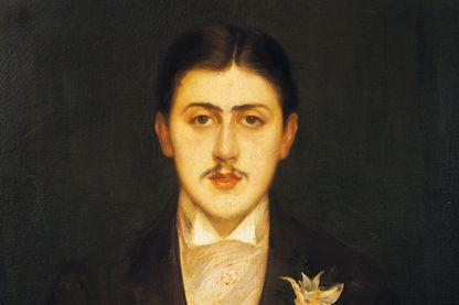 Portrait de Marcel Proust par Jacques Emile Blanche (1861 - 1942)