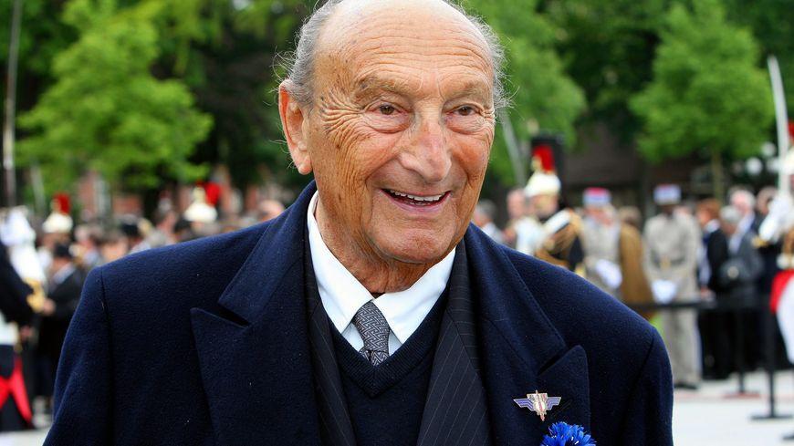 L'Alsacien André Bord, résistant, ancien ministre.