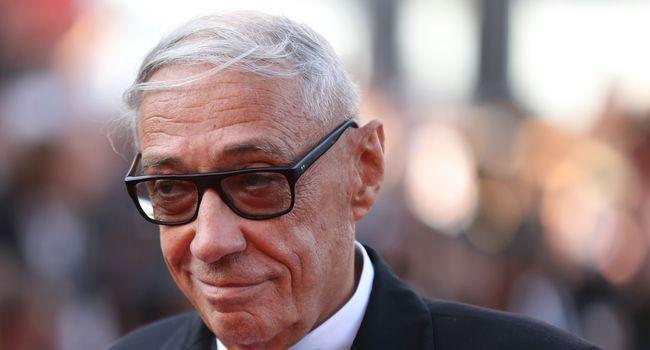 """André Téchiné présentant son film """"Les Années folles"""" au dernier festival de Cannes"""