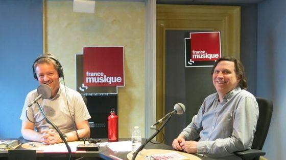 Skip Sempé et Benjamin François au studio 142 de la Maison de la Radio (juin 2017)