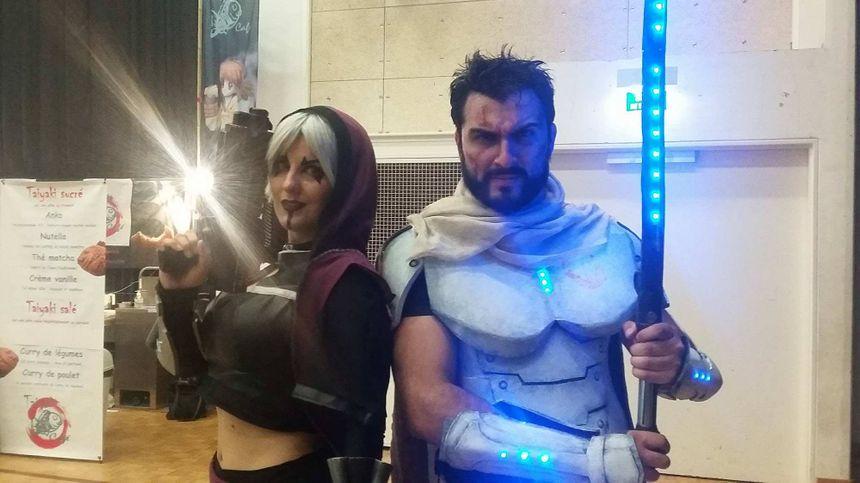 Il faut parfois aux cosplayeurs des centaines d'heures de travail pour réaliser leurs costumes.