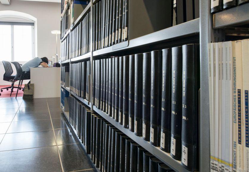Etudiant de l'Université de Mannheim, Allemagne