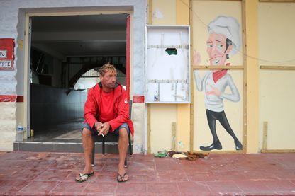 Un commerçant de Saint-Martin qui a tout perdu avec l'ouragan