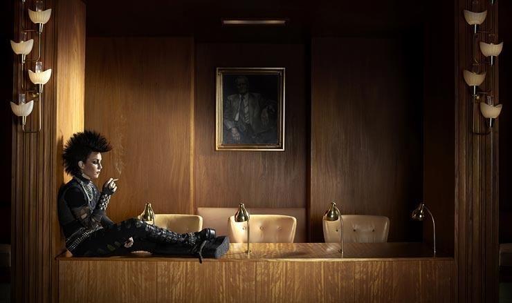 """Noomi Rapace incarnant Lisbeth Salander dans """"Millénium 3 - La Reine dans le palais des courants d'air"""" de Daniel Alfredson"""