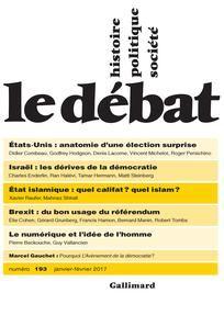 Le Débat 2017/1 (n° 193)