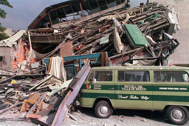 Le séisme de Mexico en 1985 avait fait plus de 10 000 morts