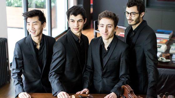 Quatuor Arod © Verena Chen
