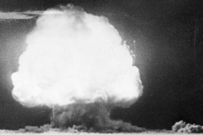 Essai nucléaire en juillet 1945 au Nouveau Mexique