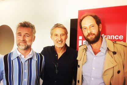 Darren Tulett, Antoine de Caunes et Olivier Guez