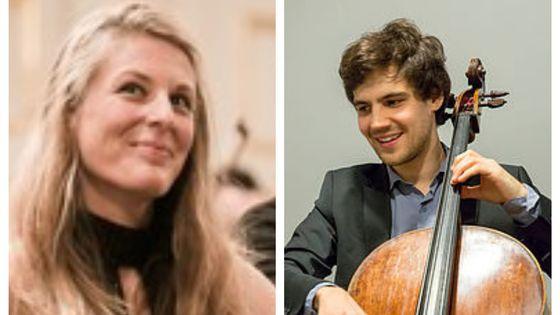 Claire-Marie Le Guay et Victor Julien-Laferrière