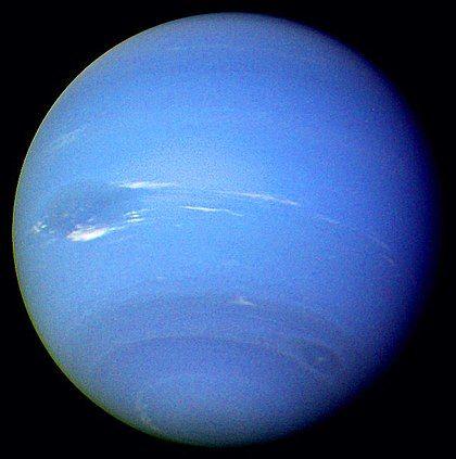 Neptune vue par Voyager 2