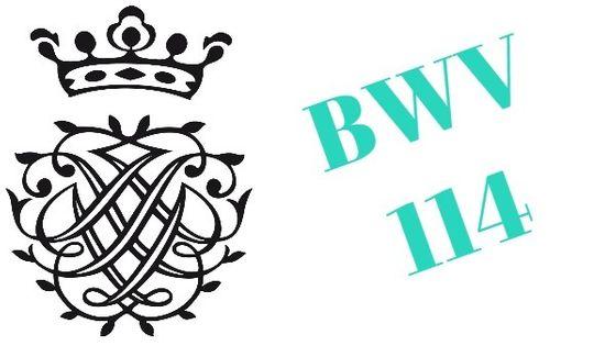 Monogramme de Bach - BWV 114