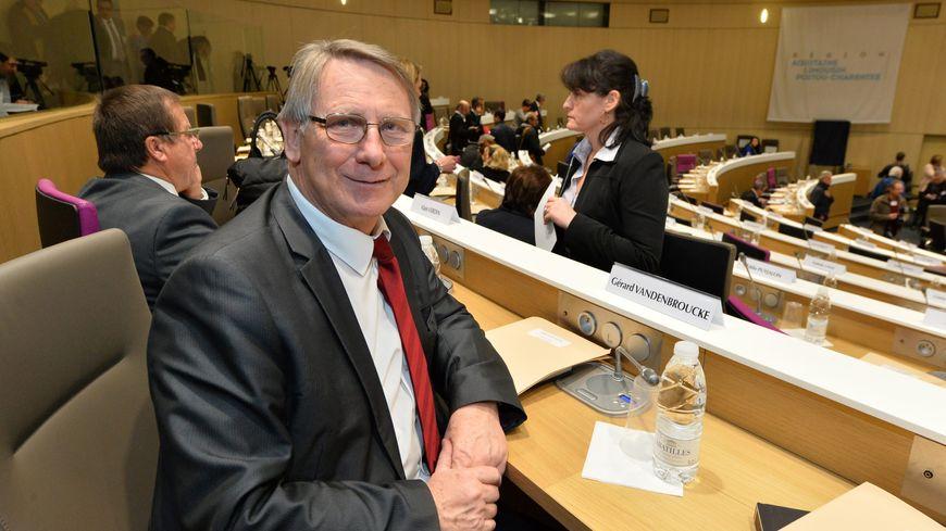 Gérard Vandenbroucke, président de Limoges Métropole